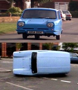 Les voitures dans Mr bean